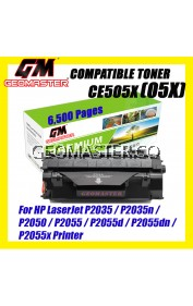 Compatible Laser Toner HP CE505X / 05X High Yield & High Quality Compatible Toner Cartridge For HP LaserJet P2055d / P2055dn / P2055x Printer Toner