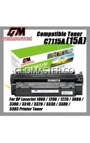 Compatible Laser Toner HP C7115A / 15A / 7115 Compatible Toner Cartridge For HP LaserJet 1000 / 1200 / 1220 / 3080 / 3300 / 3310 / 3320 / 3330 / 3380 / 3385 Printer Toner
