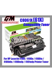Compatible Laser Toner HP C8061X / 61X / 8061 Compatible High Yield Toner For HP LaserJet 4100 / 4100n / 4100tn / 4100dtn / 4100mfp / 4101mfp Printer Toner