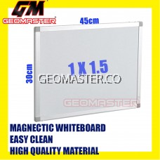 HIGH QUALITY Magnetic White Board WHITEBOARD (30cm x 45 cm)-  1 x 1.5 ruler