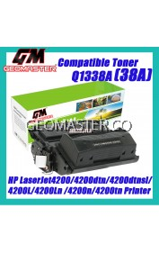 Compatible Laser Toner HP Q1338A / 38A Compatible High Yield & High Quality Compatible Toner Cartridge For HP LaserJet4200 / 4200dtn / 4200dtns / 4200dtnsl / 4200L / 4200Ln / 4200n / 4200tn Printer Toner