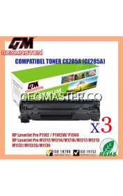 3 UNIT COMPATIBLE TONER CARTRIDGE HP CE285 /285 / 85A CB 435 / 35A -PREMIUM QUALITY