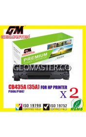 2 UNIT COMPATIBLE TONER CARTRIDGE HP CE285 /285 / 85A CB 435 / 35A -PREMIUM QUALITY