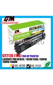 Compatible Laser Toner Cartridge For HP 217 CF217a 217a 17A  HP LaserJet Pro M102 / M102a / M102w / M130 / M130a / M130fn / M130fw / M130nw