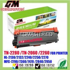 Compatible Brother TN2060 / TN2260 / TN2280 Laser Toner Cartridge For Brother HL-2130 / DCP-7055 / HL-2240D / HL-2250DN / HL-2270DW / DCP-7060D / MFC-7360 / MFC-7860DW / FAX-2840 Printer