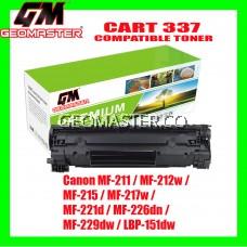 Compatible Laser Toner Canon 337 / Cartridge 337 High Quality Compatible Toner Cartridge For Canon MF-211 / MF-212w / MF-215 / MF-217w / MF-221d / MF-226dn / MF-229dw / LBP-151dw Printer Toner