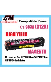 Colour Laser Toner HP Compatible 312A / CF383A Magenta Compatible Toner Cartridge For HP LaserJet Pro MFP M476nw / MFP M476dn / MFP M476dw Printer