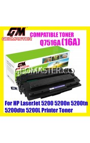HP Compatible 7516 / Q7516A / 16A High Quality Compatible Toner Cartridge For HP LaserJet 5200 5200n 5200tn 5200dtn 5200L Printer