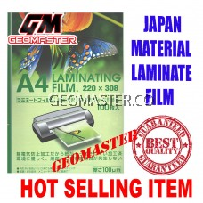 GEOMASTER 100 MIC A4 LAMINATOR FILM (100pcs)-HIGH QUALITY