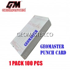 TIME RECORDER PUNCH CARD TIME CARD 1PACK-100PCS