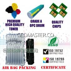Full Set Compatible Colour Laser Toner HP 130A / CF350A + CF351A + CF352A + CF353A (1 Set 4 Unit) Compatible Toner Cartridge For LaserJet Pro MFP M176n / MFP M177fw / M176 / M177 Printer