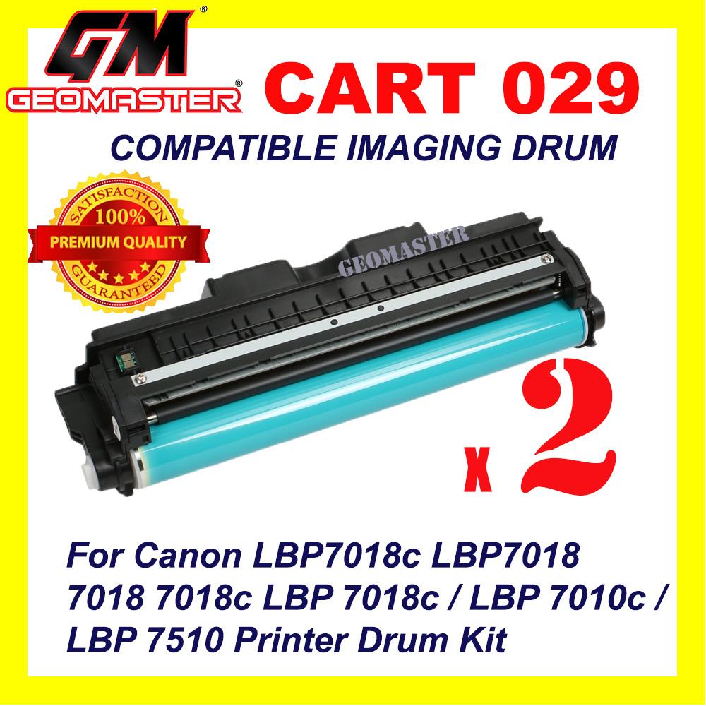 2 UNIT Canon 329 / 029 / Cartridge 029 High Quality Compatible Drum Unit For Canon LBP7018c LBP7018 7018 7018c LBP 7018c / LBP 7010c / LBP 7510 Printer Drum Kit