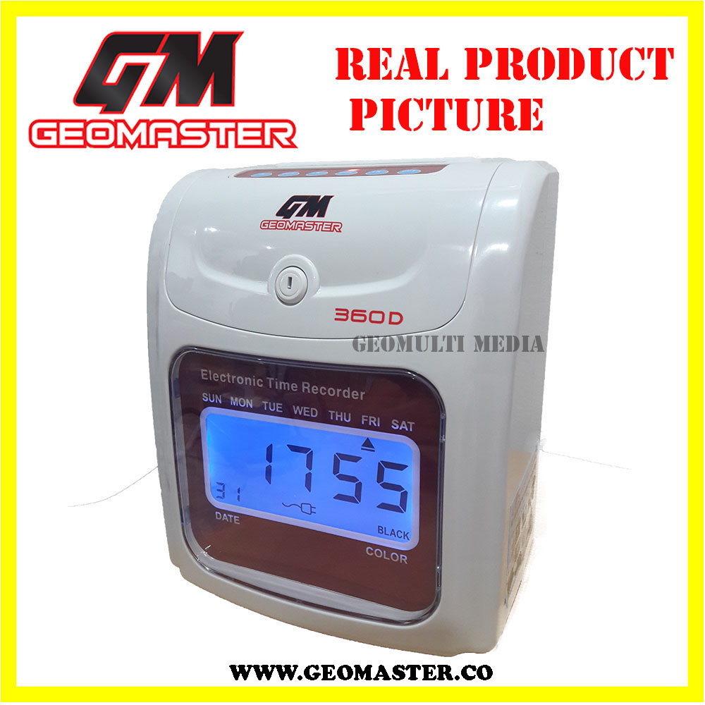 MALAYSIA GEOMASTER 360D PUNCH CARD MACHINE -DIGITAL II