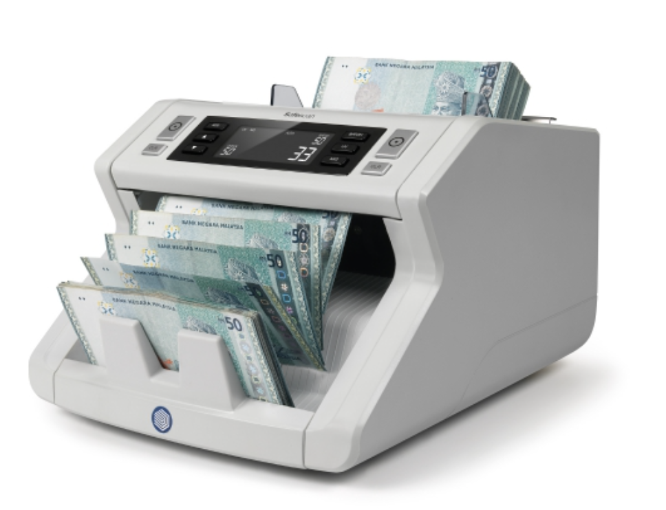 PROMOTION MONEY NOTES COUNTER MACHINE WITH UV DETECTOR + 10 YEARS WARRANTY II