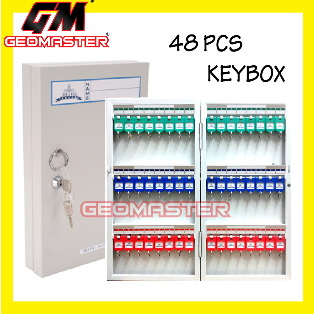 GM METAL KEY BOX - SECURITY KEY BOX -48PCS II
