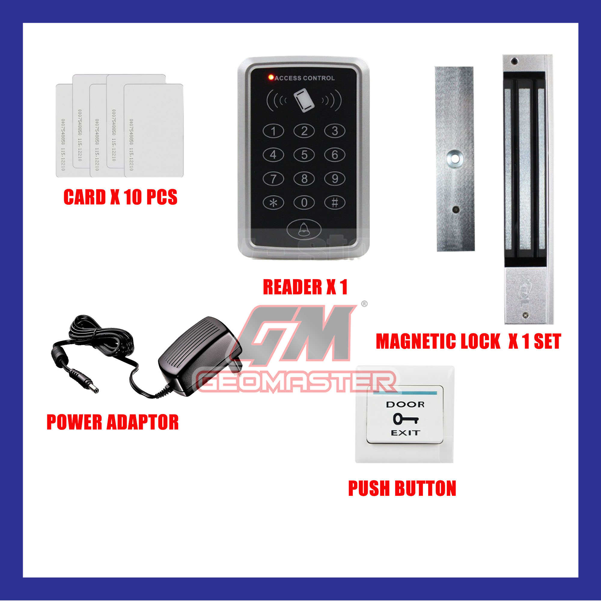 SECURITY DOOR ACCESS CARD SYSTEM (RFID CARD )