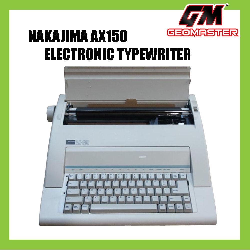 Nakajima typewriter ax150 user manual equest store.