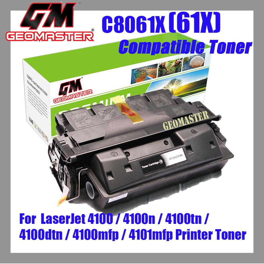 Compatible Laser Toner C8061X / 61X / 8061 Compatible High Yield Toner For LaserJet 4100 / 4100n / 4100tn / 4100dtn / 4100mfp / 4101mfp Printer Toner