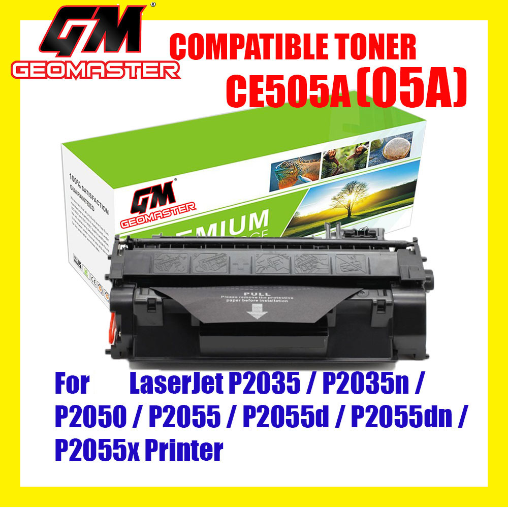 Compatible Laser Toner Cartridge Compatible CE505A 05A CE505 505A Compatible Toner For LaserJet P2035 / P2035n / P2050 / P2055 / P2055d / P2055dn / P2055x Printer