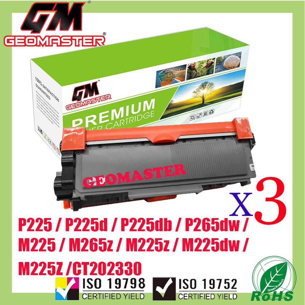 3 UNIT Compatible P225 / P225d / P225db / P265dw / M225 / M225dw / M225z / M265z / CT202330 AAA Quality Compatible Toner