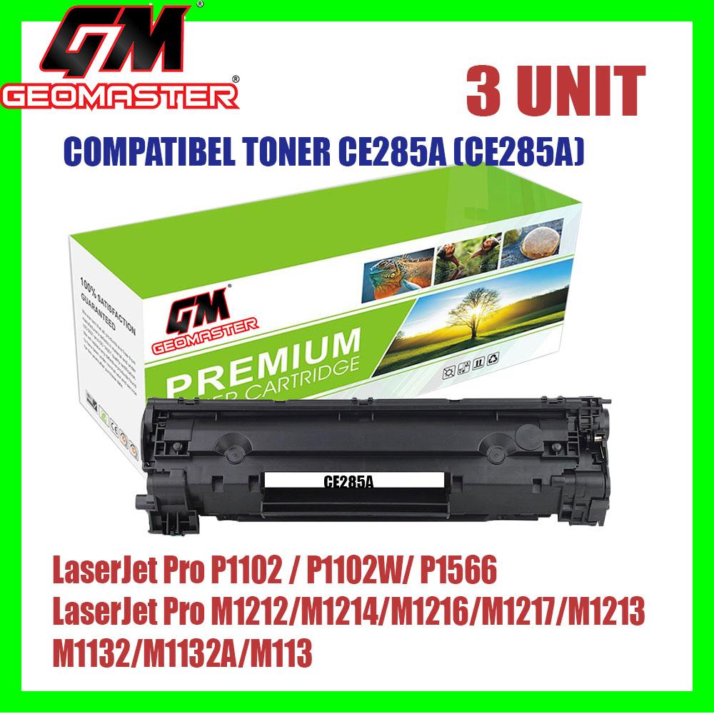 3 UNIT COMPATIBLE TONER CARTRIDGE FOR CE285 /285 / 85A CB 435 / 35A -PREMIUM QUALITY