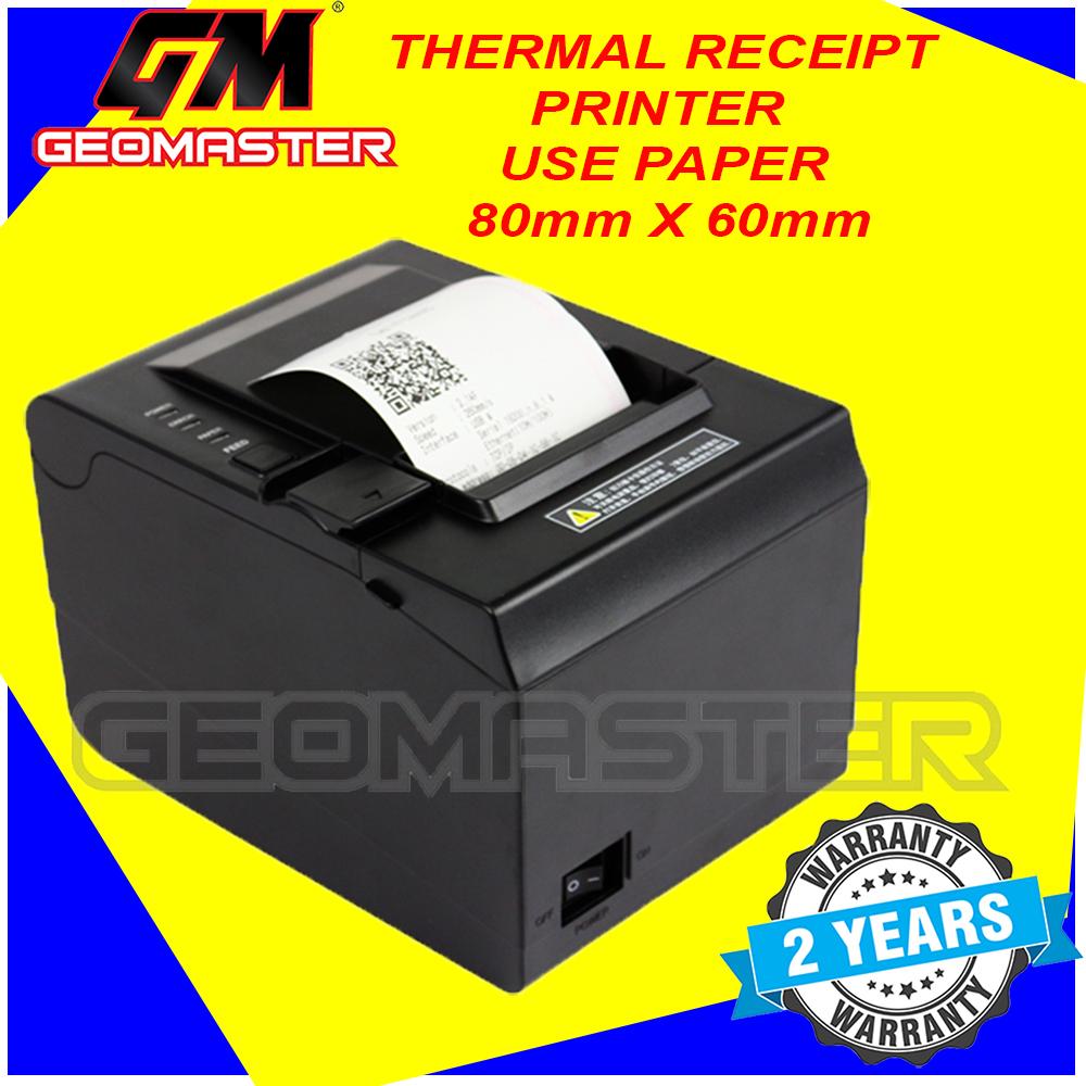 F&B 80mm THERMAL RECEIPT PRINTER USB+NETWORK -GM8800