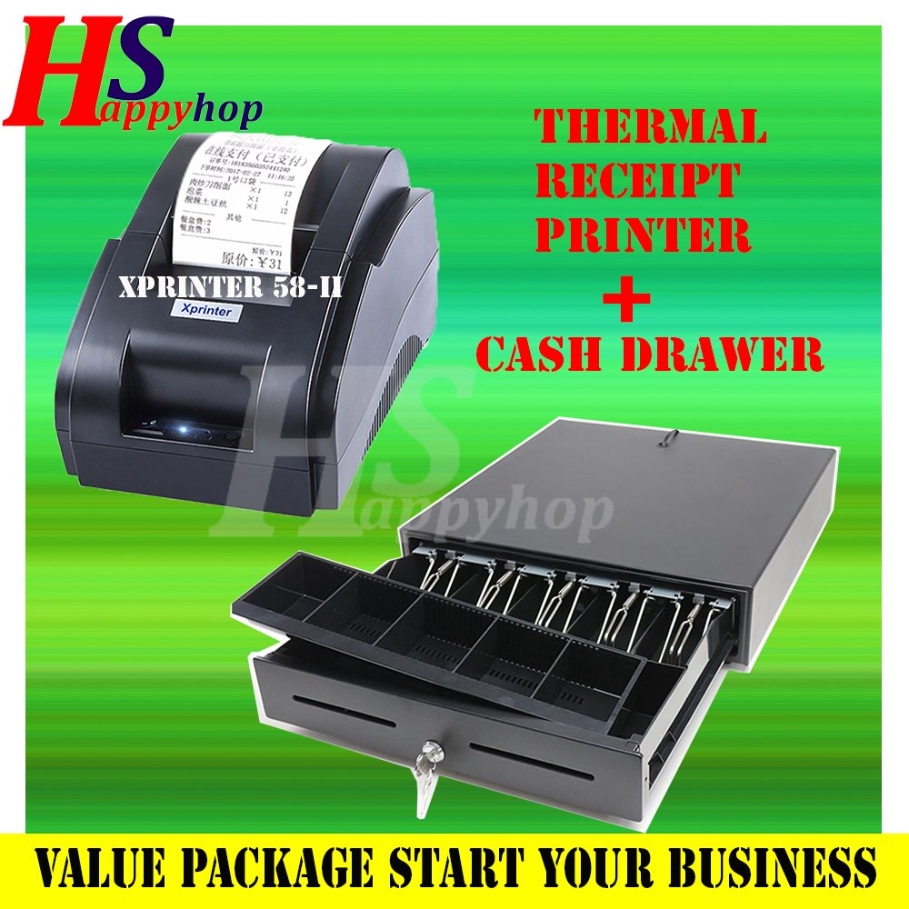VALUE PACKAGE RECEIPT RPINTER WITH CASH DRAWER SET
