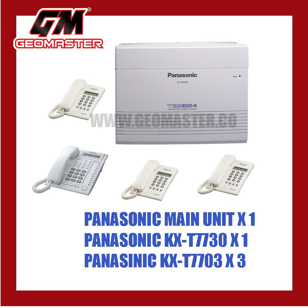 PANASONIC KEYPHONE SYSTEM KX-TES824 1+3