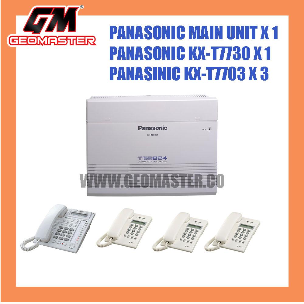 PANASONIC KX-TES824 HYBIRD KEYPHONE SYSTEM 1+3