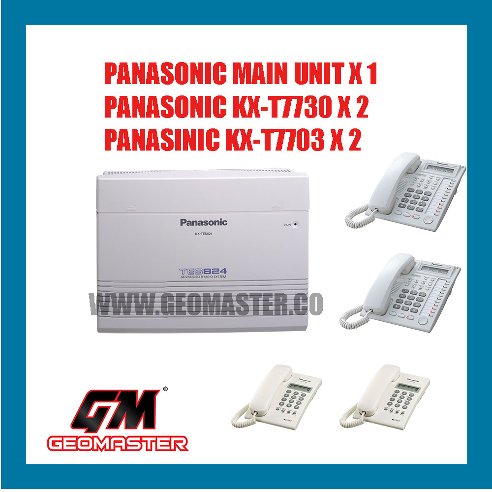 PANASONIC KEYPHONE SYSTEM KX-TES824ML PACKAGE-A
