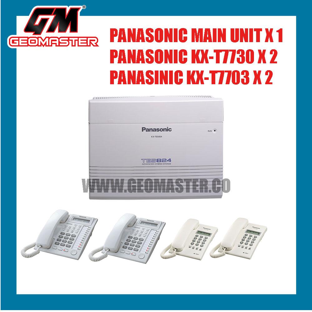 PANASONIC KX-TES824 KEYPHONE SYSTEM PACKAGE A