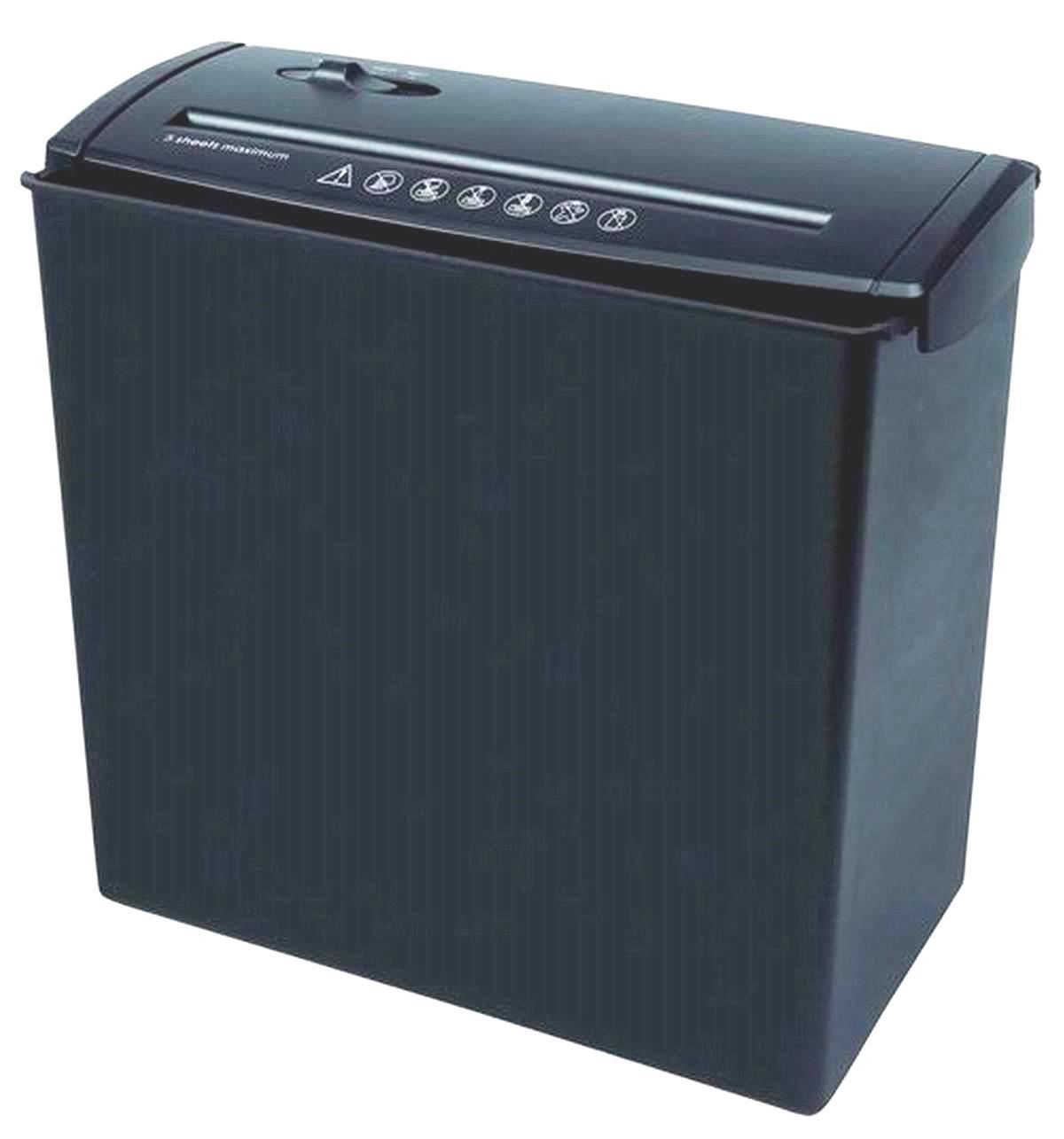 Professional Paper Shredder Cutter Machine (Black)