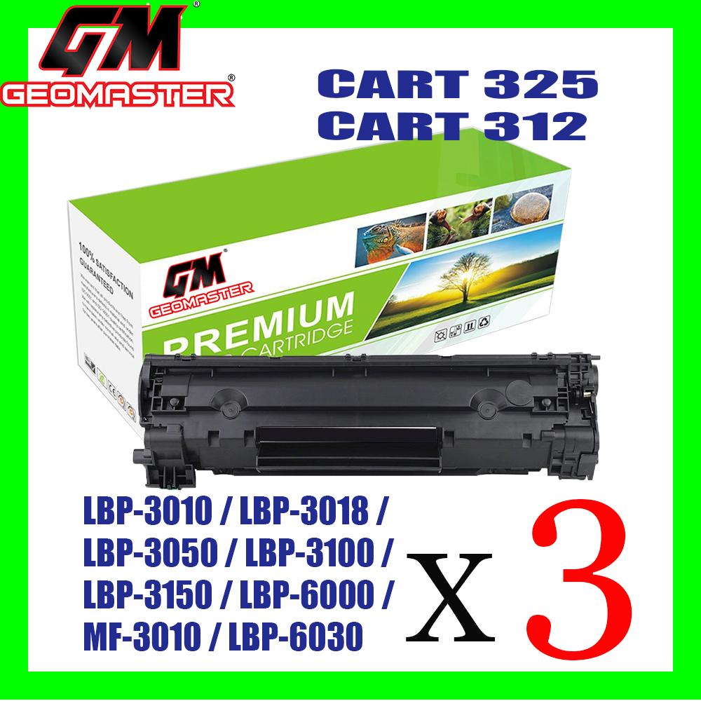 3 Unit Canon 325 Compatible / Cartridge 312 Compatible High Quality Compatible Toner Catridge LBP-3010 / LBP-3018 / LBP-3050 / LBP-3100 / LBP-3150 / LBP-6000 / MF-3010 / LBP-6030 / LBP-6030w