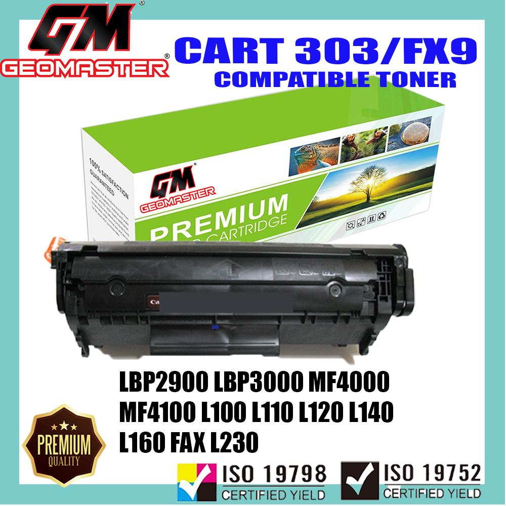 Compatible Laser Toner Canon 303 Cartridge 303 Canon FX9 Compatible For Canon LBP2900 LBP3000 MF4000 MF4100 MF4200 MF4600 MF4120 MF4122 MF4150 MF4270 MF4320d MF4350d MF4370dn MF4380dn MF4680 MF4690 L100 L110 L120 L140 L160 FAX L230 Printer Toner
