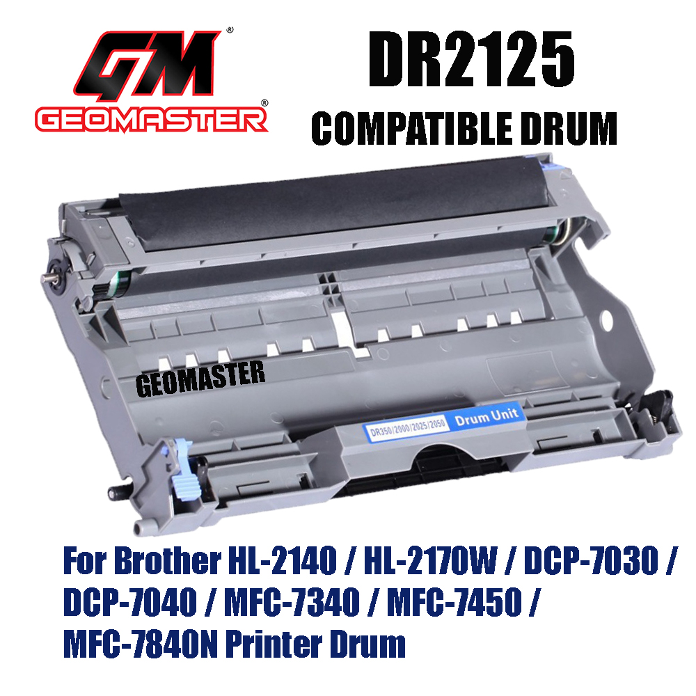 Compatible Drum Unit Brother DR2125 / DR-2125 High Quality Compatible Drum Kit For Brother HL-2140 / HL-2170W / DCP-7030 / DCP-7040 / MFC-7340 / MFC-7450 / MFC-7840N Printer Drum