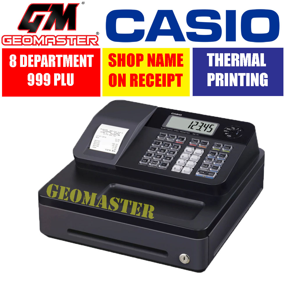 CASIO CASH REGISTER SE-G1 BLACK