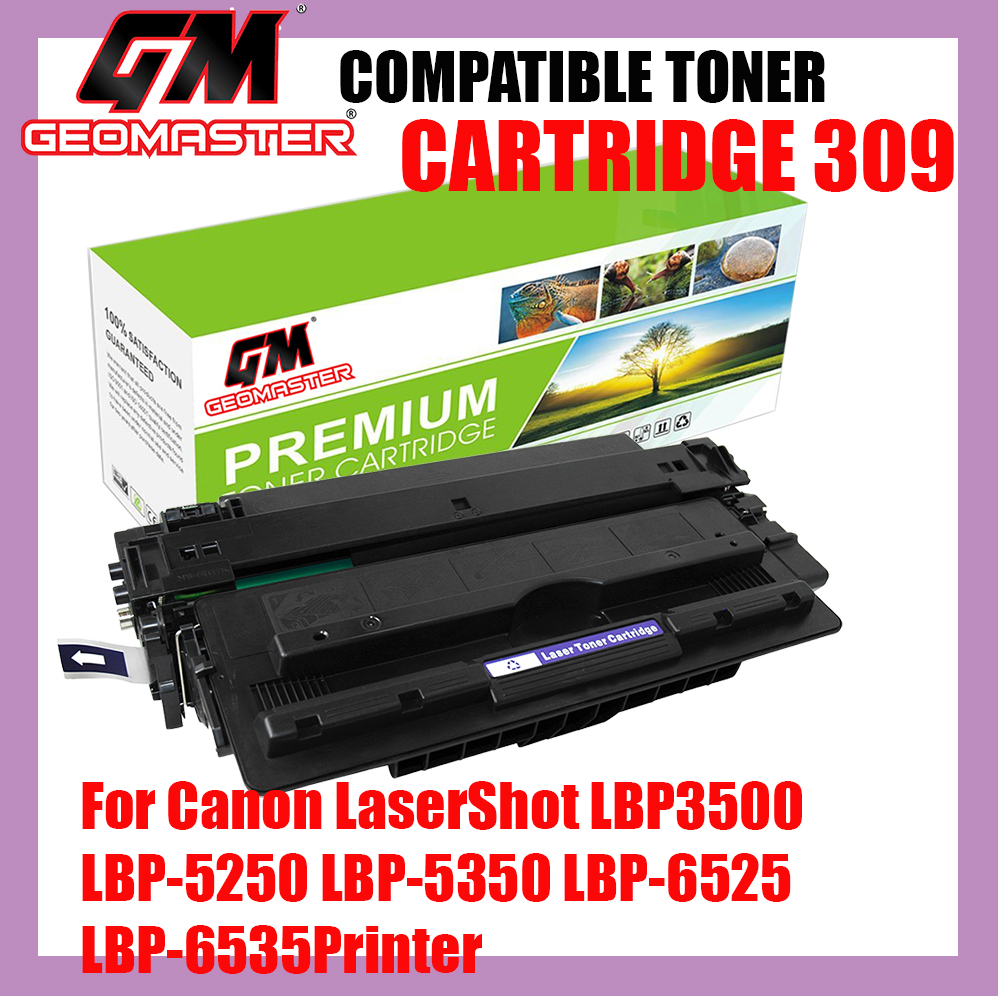 Compatible Laser Toner Canon 309 / Cartridge 309 High Quality Compatible Toner Cartridge For Canon LaserShot LBP3500 Printer